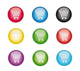 Warenkorb Button Set