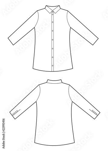 Traducir camisa manga larga