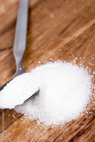 spoon with sugar