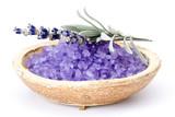 Fototapety Spa essentials (bath salt and flowers of lavender)