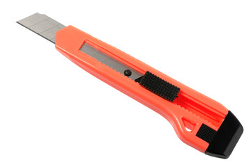 Orange paper knife