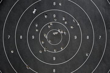bersaglio - poligono di tiro