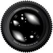 camera lens vector illustration