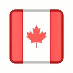 animation bouton drapeau canada