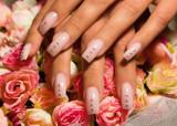 Fototapety Beautiful nails with Art