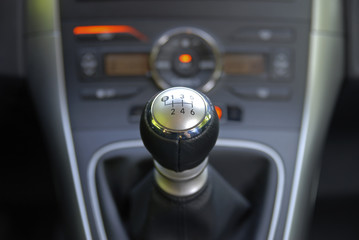 six speed gearbox shifter