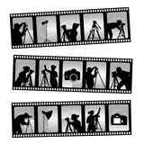 photography filmstrip poster