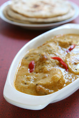 Kadhi - Spicy Indian Curry and Potatoes