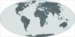Weltkarte, world map - Mollweide Projektion