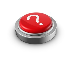 Question mark button education concept
