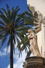 Sculpture in Las Palmas de Gran Canaria, Spain