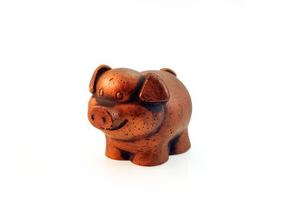 Statuette of pig