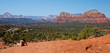 Admiring the panoramic view of Sedona, Arizona