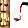 Wein - Collage