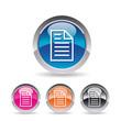 Icône document texte