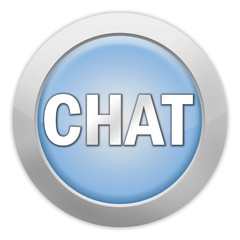 """Light colored Icon """"Chat"""""""