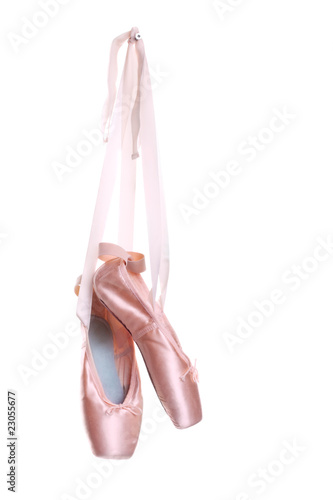 Fotobehang Dans Hung ballet shoes