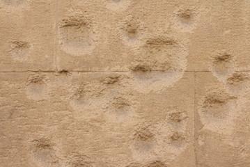 particolare di facciata di edificio