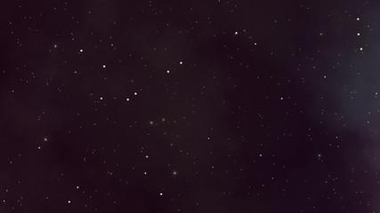 Still Twinkling Stars and Plasma Backdrop