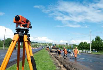 surveyor equipment level theodolite