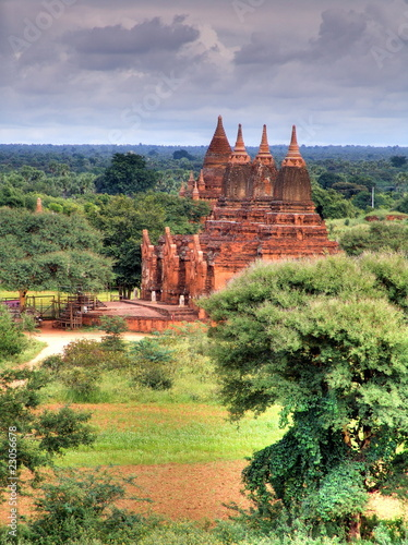 Myanmar, Bagan - Payathonzu Temple