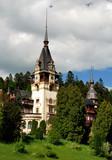 Peles Castle in Sinaia, Romania poster