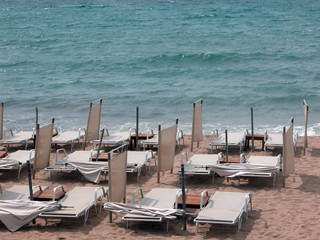 Beach at Cannes