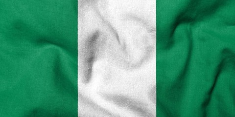 3D Flag of Nigeria