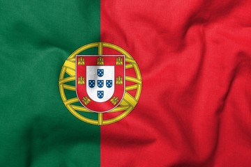 3D Flag of Portugal
