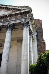 dettaglio della chiesa san nicolo dei tolentini venezia