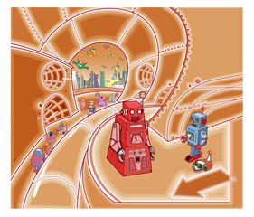 ロボットの国002