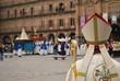 Bischof auf einer Prozession, Salamanca