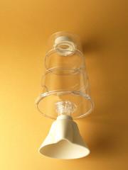 Inhalador transparente para el hogar