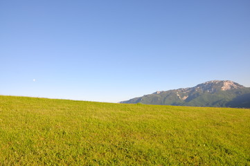 Big mountain landscape