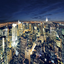 Vue magnifique sur New York Manhattan - newyork ville