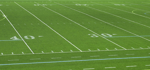 American Football Field Abstract