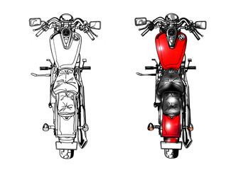 バイク002(上から)
