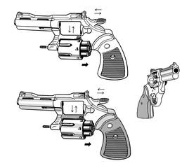 拳銃(図解)