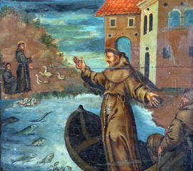 St. Anthony Preaches to the Fishes