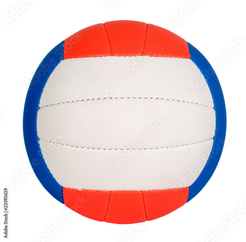 Ball with colorful stripes - 23095639