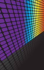 Rainbow Squares Backdrop
