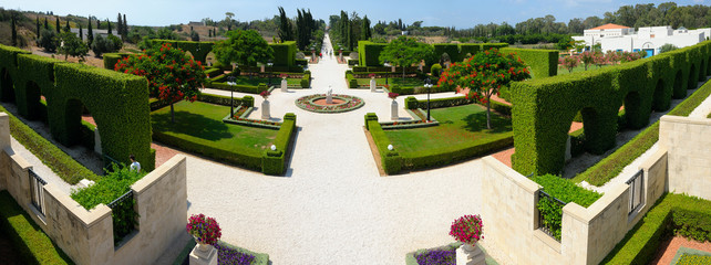 Bahai gardens Acre