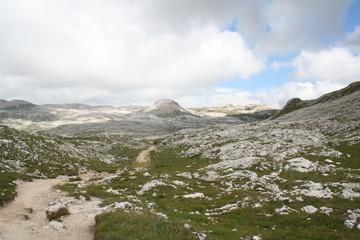 Excursion on Trentino mountain plateau