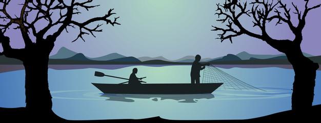 Pesca de red