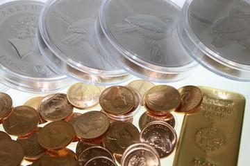 Münzen & Barren
