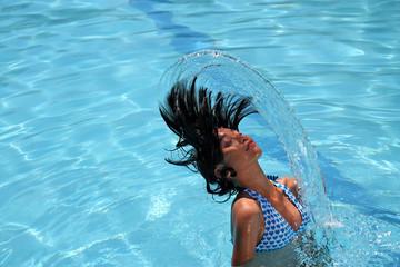 hair flipping