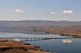 Vantage Bridge across the Columbia River poster