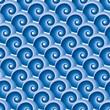 roleta: Seamless water wave pattern