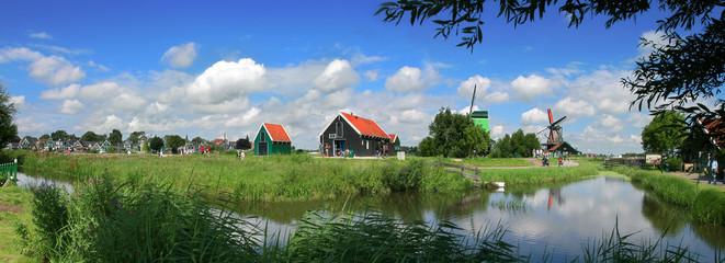 Zaanse Schans village near Amsterdam, Netherlands.