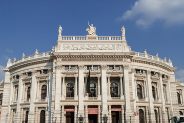 the viennese burgtheater